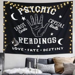 Other - Psychic Reading Tarot Tapestry Wall Hanging large